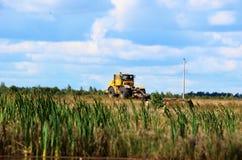 Il trattore Fotografia Stock Libera da Diritti
