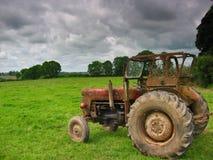 Il trattore Fotografie Stock Libere da Diritti