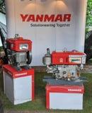 Il trattore del compatto di YANMAR  Fotografia Stock Libera da Diritti
