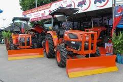 Il trattore di KIOTI  Fotografia Stock Libera da Diritti