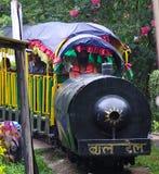 Il treno dei bambini nel Nepal Fotografie Stock