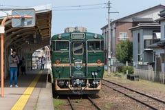 Il treno facente un giro turistico - montagnes et mer delle reginette Immagine Stock Libera da Diritti