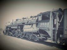 Il treno pensionato CB&Q Fotografia Stock