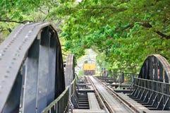 Il treno sta venendo Immagini Stock Libere da Diritti