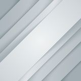 Il triangolo grigio e bianco astratto modella il fondo Fotografia Stock