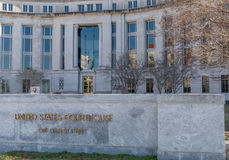 Il tribunale federale in Montgomery Alabama Fotografie Stock