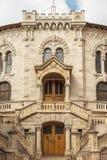 Il tribunale a Monte Carlo, Monaco Immagine Stock
