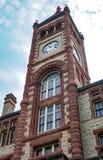 Il tribunale storico della contea di De Witt in Cuero, il Texas lungo la t fotografie stock libere da diritti