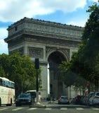 Il Triomphe degli archi fotografie stock