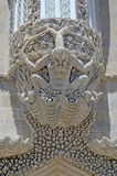 Il tritone del castello di Pena, Sintra, Portogallo Fotografia Stock Libera da Diritti