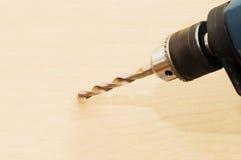 Il trivello perfora un'apertura Fotografia Stock Libera da Diritti