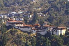 Il Trongsa Dzong Immagine Stock