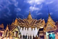 Il trono Corridoio di Dusit Maha Prasat Fotografia Stock Libera da Diritti