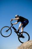 Il trucco della bici Immagini Stock Libere da Diritti