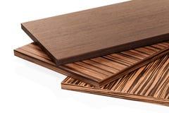 Il truciolato laminato del pannello di particelle è utilizzato nella mobilia ind Immagine Stock