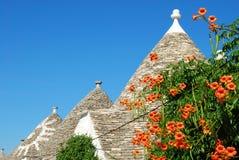 Il Trulli di Alberobello Puglia - in Italia n131 Fotografia Stock Libera da Diritti