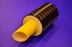 Il tubo è nell'efficace isolamento termico Fotografia Stock