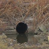 Il tubo di scarico 3135 fotografia stock