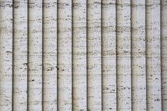 Il tufo è una pietra vulcanic Le costruzioni storiche in sono fatte da  Fotografia Stock