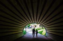Il tunnel in Central Park, New York Fotografia Stock Libera da Diritti