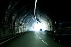 Il tunnel dell'automobile Fotografia Stock