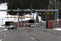 Il tunnel di Vereina, Svizzera Fotografie Stock Libere da Diritti