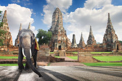 Il turismo dei siti storici in Tailandia Fotografia Stock