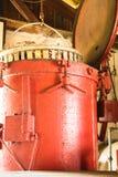 Il vaso di granchio rosso Immagini Stock Libere da Diritti