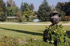 Il vaso ed il giardino a Santiago fanno il Cile Fotografia Stock Libera da Diritti