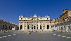 Il Vaticano - Roma Immagini Stock Libere da Diritti