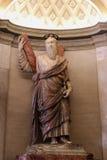 IL VATICANO - 25 SETTEMBRE: Interno del san Peters Basilica Immagine Stock Libera da Diritti