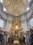 Il Vaticano, st Peters Basilica Immagini Stock