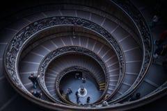 Il Vaticano Staircaise Fotografie Stock