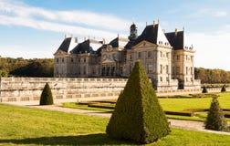 Il Vaux - le - castello di Vicompte Fotografia Stock Libera da Diritti