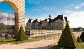 Il Vaux-le-Vicomte castle, Francia Immagini Stock Libere da Diritti