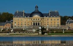 Il Vaux-le-Vicomte castle, vicino a Parigi, la Francia Fotografia Stock Libera da Diritti