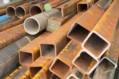 Vecchio acciaio Fotografie Stock