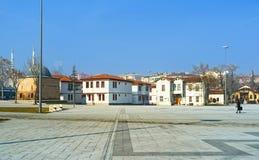 Il vecchio alloggio in Konya moderno Fotografie Stock Libere da Diritti