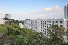 il vecchio alloggio a Pak Tin Estate Fotografia Stock