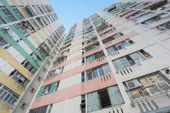 il vecchio alloggio a Pak Tin Estate Immagini Stock Libere da Diritti