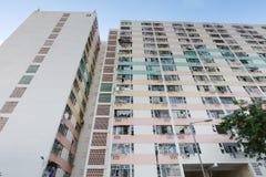 il vecchio alloggio a Pak Tin Estate Immagini Stock