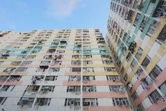 il vecchio alloggio a Pak Tin Estate Immagine Stock