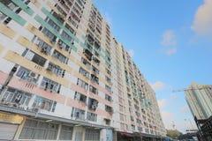il vecchio alloggio a Pak Tin Estate Fotografie Stock Libere da Diritti