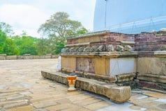 Il vecchio altare Immagine Stock Libera da Diritti