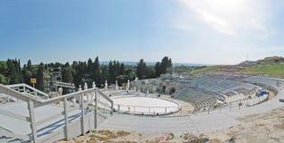 Il vecchio amphitheater corrente Immagini Stock