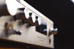 Il vecchio amplificatore immagini stock