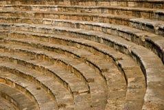 Anfiteatro in Ocrida, Macedonia fotografia stock libera da diritti