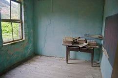 Il vecchio banco Fotografia Stock
