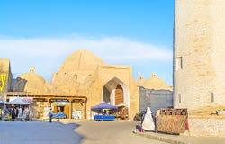 Il vecchio bazar fotografia stock