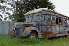 Il vecchio bus Fotografie Stock Libere da Diritti